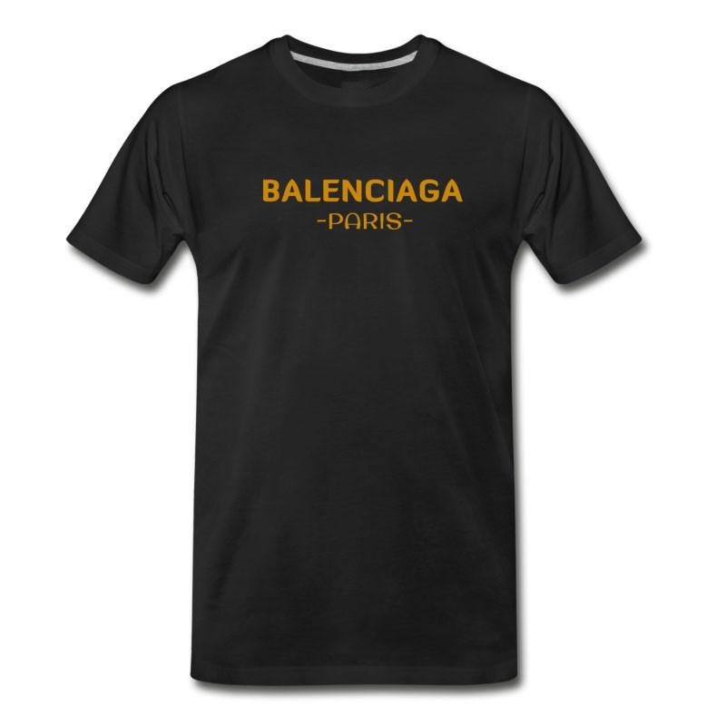 Men's Balenciaga T Shirt T-Shirt