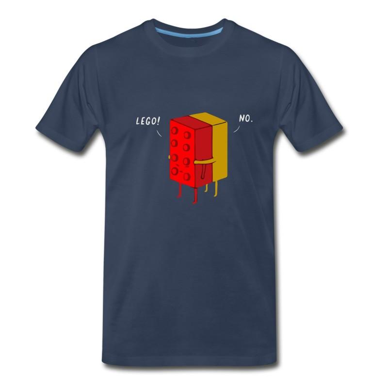 Men's Funny Lego Joke T-Shirt