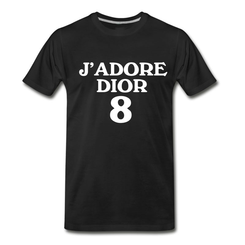 Men's J'ADORE DIOR WHITE T-Shirt