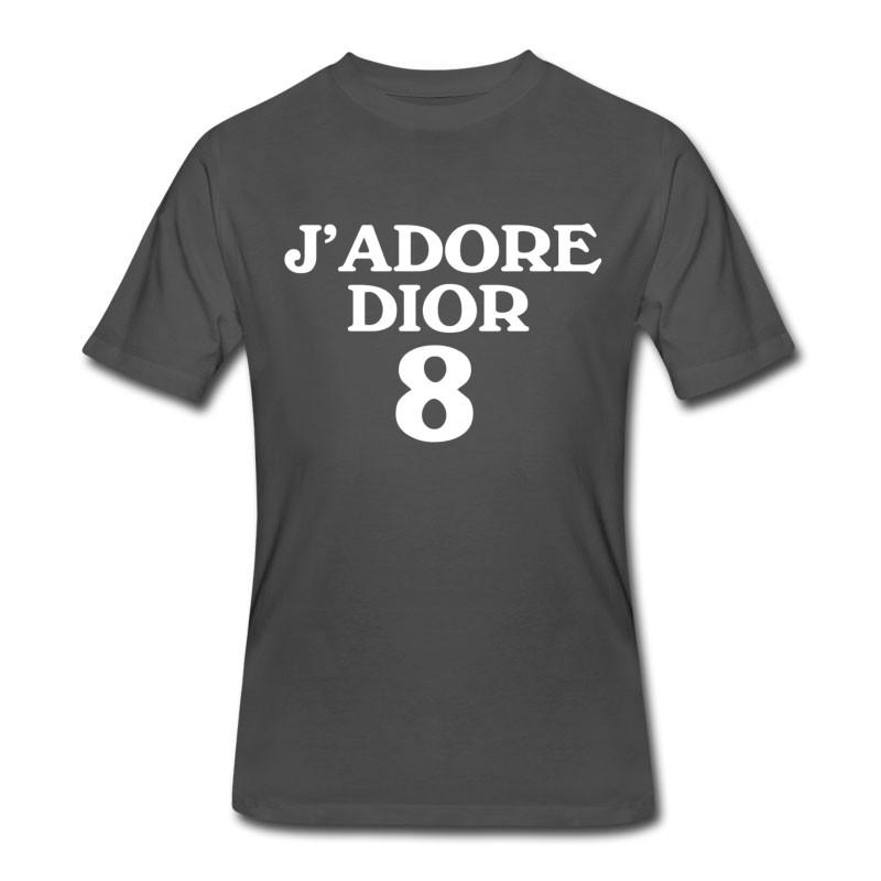 Men's J'ADORE DIOR WHITE T-Shirt