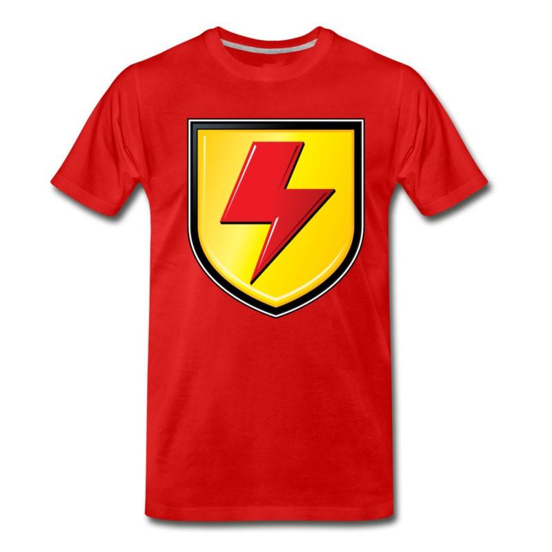 Men's Supa Strikas Shield T-Shirt