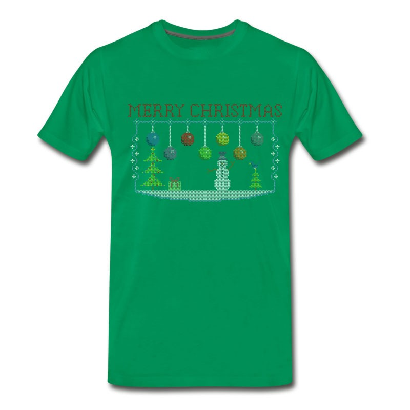 Mens Ugly Christmas Sweater.Men S Ugly Christmas Sweater T Shirt